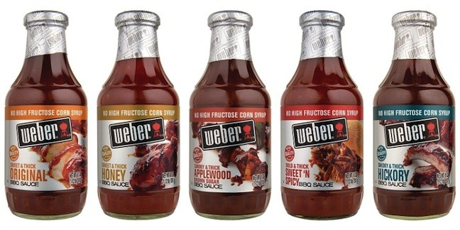 New and Improved Weber BBQ Sauces Introduced For summer grilling season.