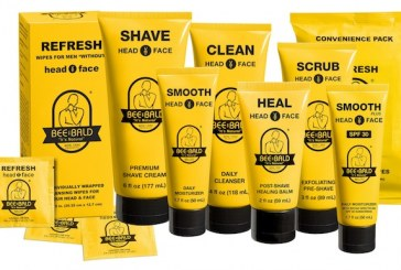 Bee Bald Man Care Products Now Available At Schnucks