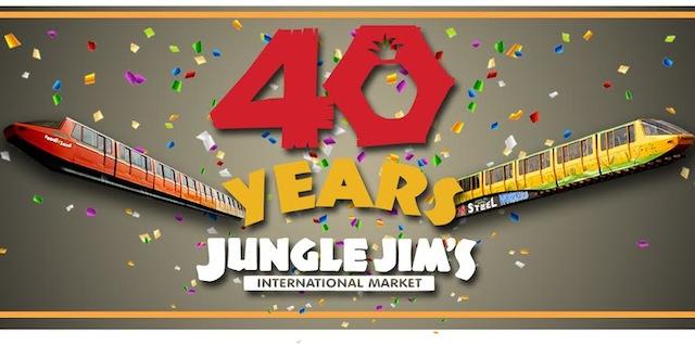 JUNGLE JIM'S 40th anniversary w