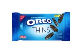 Oreo Adds Oreo Thins To Cookie Lineup