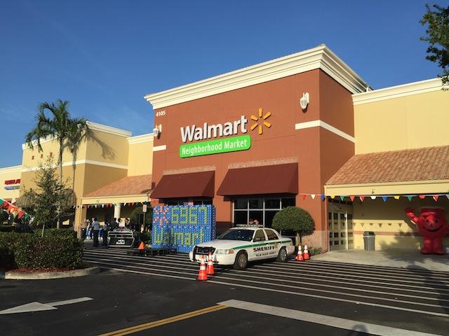 Walmart Neighborhood Market Opens In Wellington, Florida