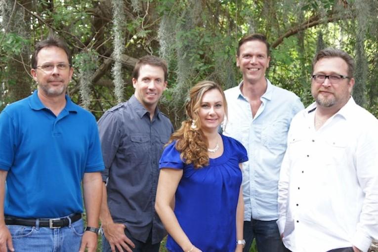 David Behrens, Ryan Martin, Christy Emery, John Scheffel and Tim Moore.