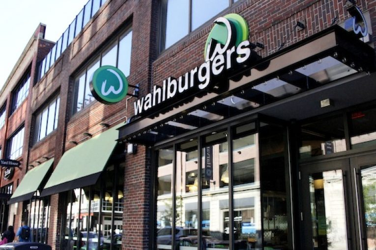 Wahlburgers front sign 2