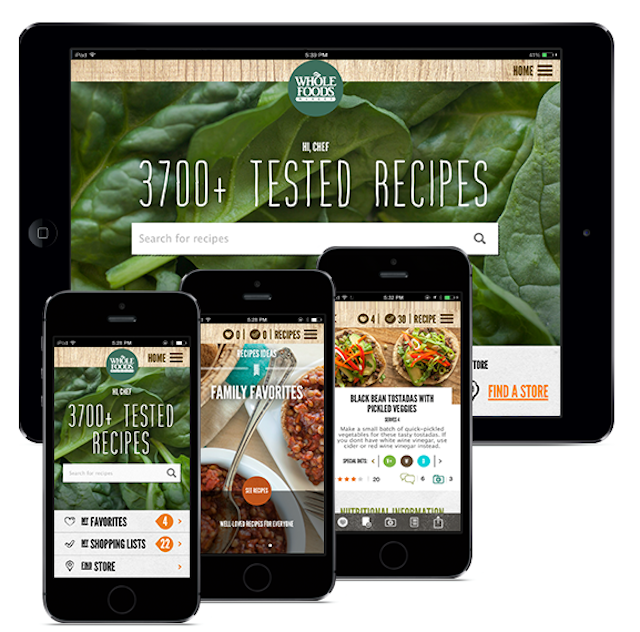Whole foods market redesigns app forumfinder Gallery