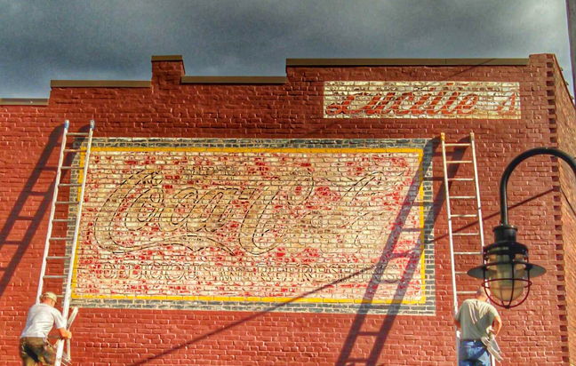 Please join Coca-Cola Consolidated as we celebrate the revitalized Coca-Cola mural at 100 N. Central Avenue on Oct. 22.