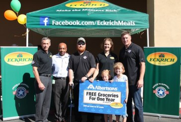 Eckrich, Albertsons And Former Football Pro Honor Arizona Military Family