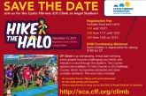 Annual Hike The Halo Event Aiding Cystic Fibrosis Foundation Is Dec. 12