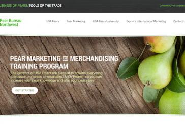 Pear Bureau Northwest Launches Redesigned Trade Website
