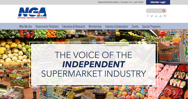 NGA website screenshot
