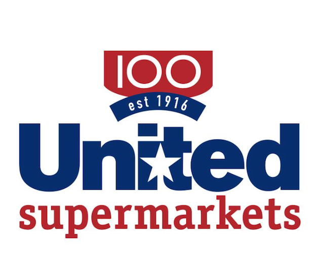 United 100th logo