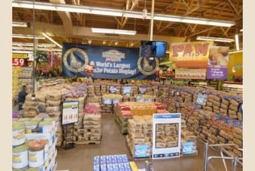 World's Largest Idaho Potato Display Unveiled At Northgate González Market