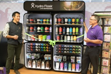 Hydro Flask Unveils First Retail Wall Display At Newport Avenue Market
