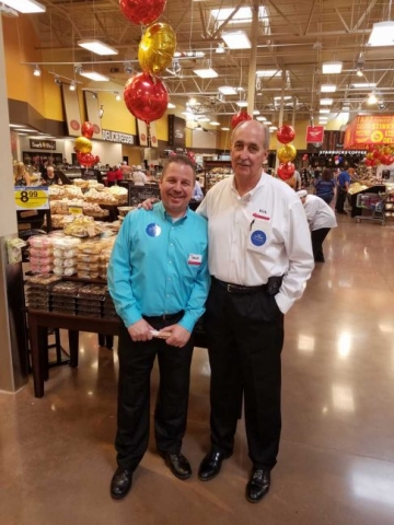 Matt McNerney, operations manager; Kirk Reineke, district manager.