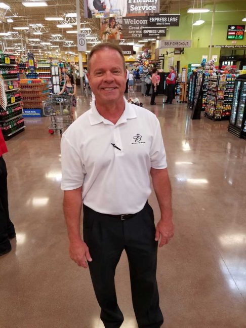 Don Gardner Hensley, merchandising manager.