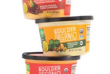 Boulder Organic Foods Adds Three New 'Garden-Fresh' Soups To Lineup