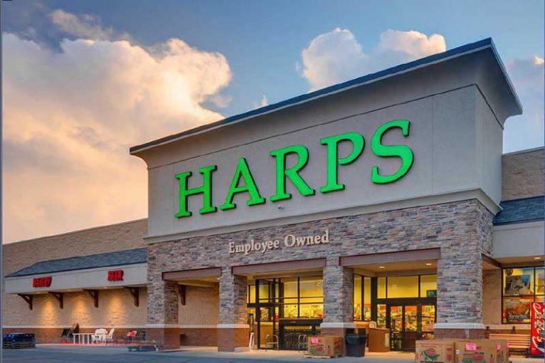 A Harps storefront