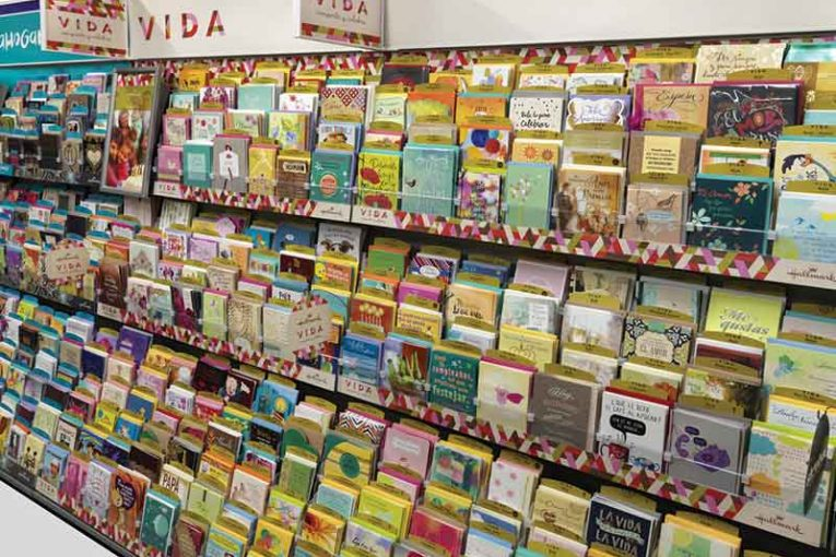 Greeting cards in the grocery cart m4hsunfo