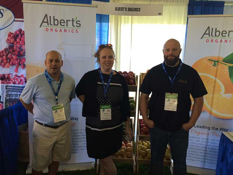 Alberts Organics Food Show