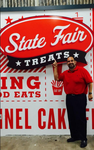 Isaac Rousso of State Fair Treats. (Photo provided to Dallas Morning News from State Fair Treats)