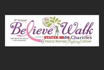 Annual Believe Walk, Presented By Stater Bros. Charities, Is Oct. 2