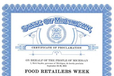 Food Retailers Week In Michigan Runs Through Sept. 30