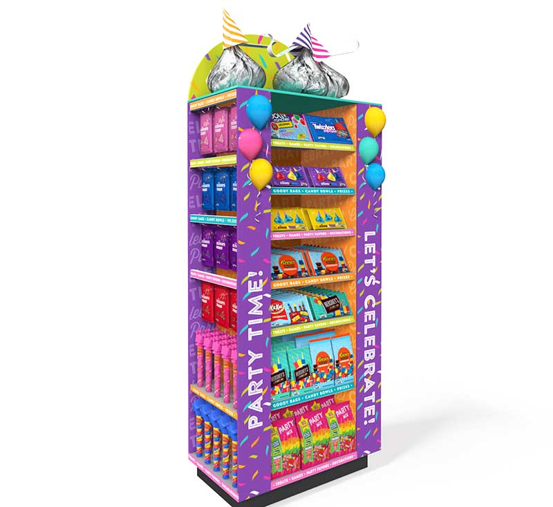 Hershey Birthday Kiosks Now At ShopRite Walmart Stores Nationwide