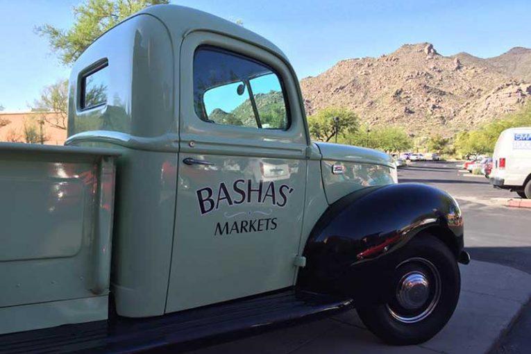 Bashas' truck