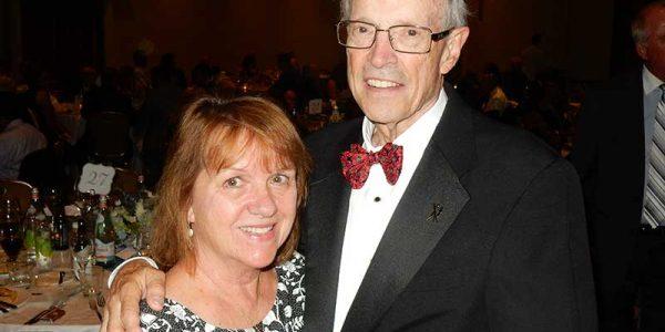 Bob Paul with his wife Karen.
