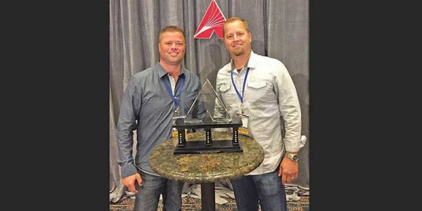 Hays Market—with stores in Berthoud and Johnstown, Colorado—recently received the 2016 Retailer of the Year Award from Affiliated Foods Midwest. Brothers Ryan and Russell Hays accepted the award in Omaha, Nebraska.