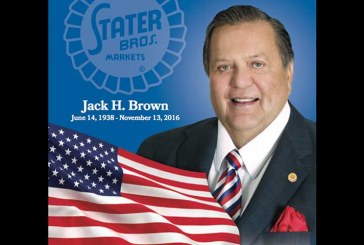 Moment Of Silence To Be Observed At All Stater Bros. Stores In Memory Of Jack Brown