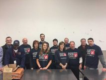 New England Produce Council Volunteers At Greater Boston Food Bank