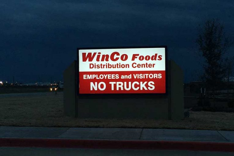 Photos from WinCo's Facebook page.