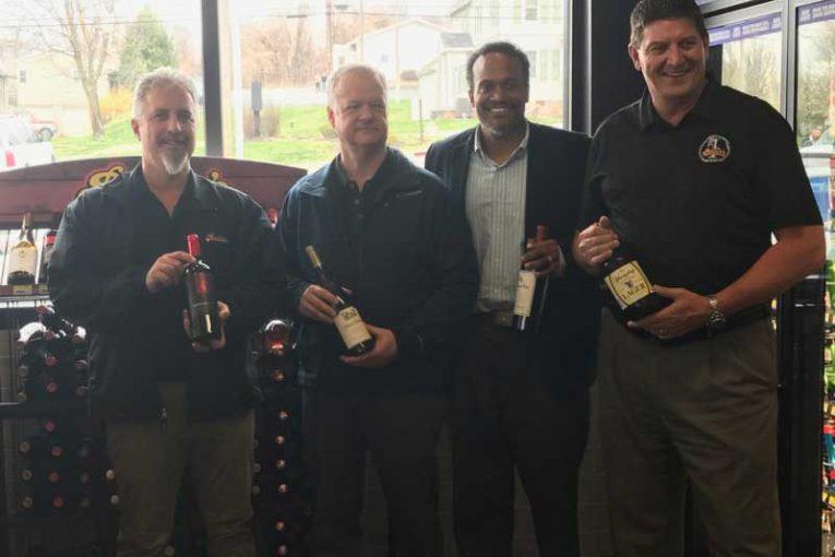 Rick Miller, Todd Rutter, Derek Gaskins and Robert Perkins, Rutter's.