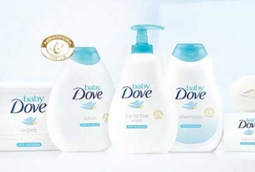 Dove Launches Baby Care Product Line