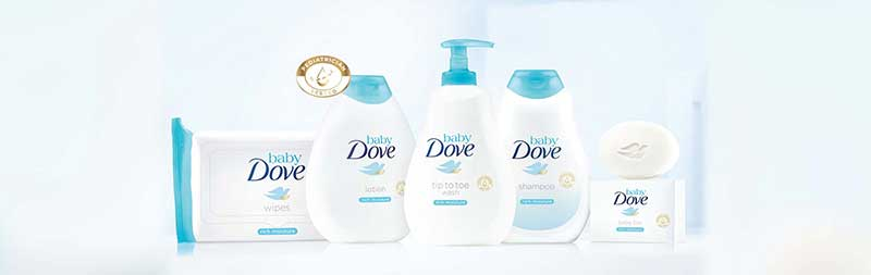 Dove Launches Baby Care Product Line Called Baby Dove