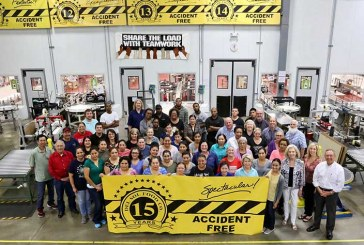Briannas Marks 15 Years With No Lost-Time Accidents