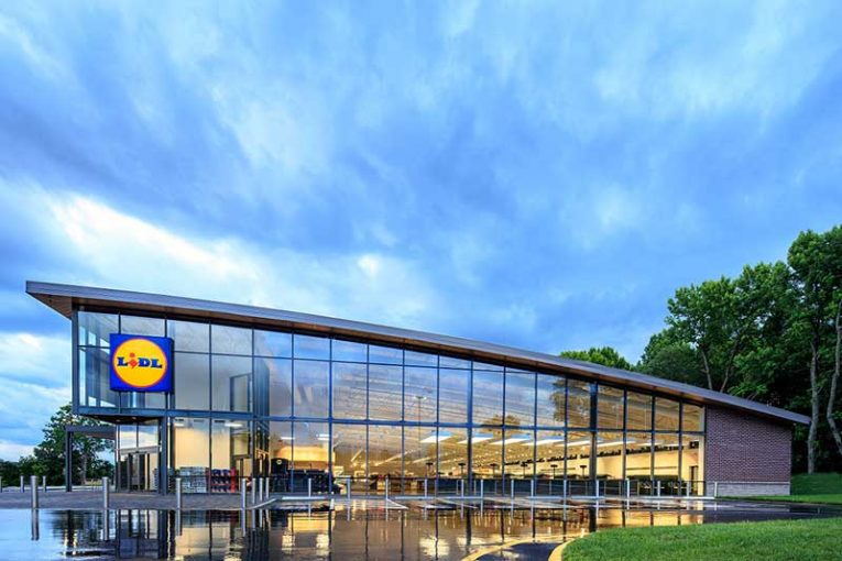 Lidl US Store Exterior