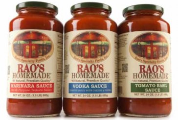 Sovos Brands Acquiring Rao's Specialty Foods
