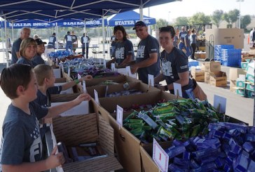 Stater Bros. Charities Sends Care Packages To Deployed Service Members