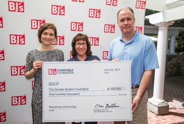 BJ's Wholesale Club Presents $100K To Greater Boston Food Bank