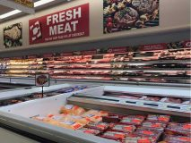 One of the major draws of Edwards Cash Saver stores is an emphasis on fresh meat. This photo is from the Beebe store that opened in February.