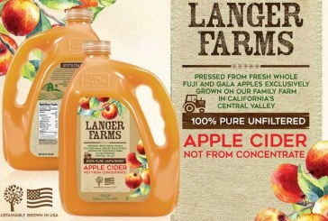 Langer Farms Ramps Up California-Grown Apple Cider Line