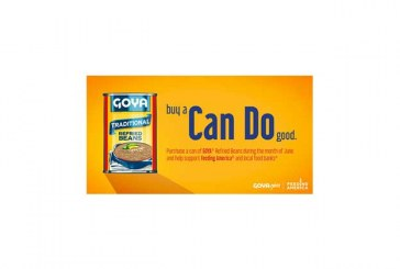 Goya Foods Launches 'Can Do' Campaign