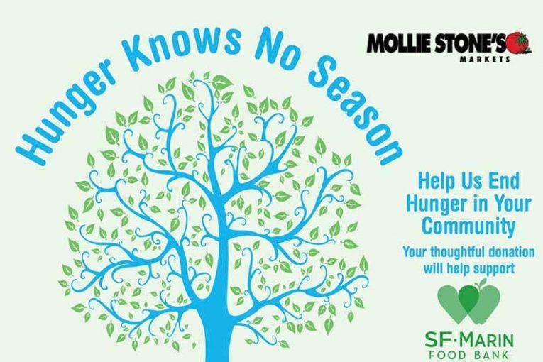 hunger fundraiser, Mollie Stone's