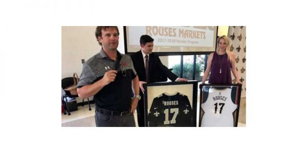 Donny Rouse discusses his company's new partnership with the New Orleans Saints.
