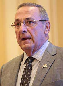 Gov. Paul LePage smoking age
