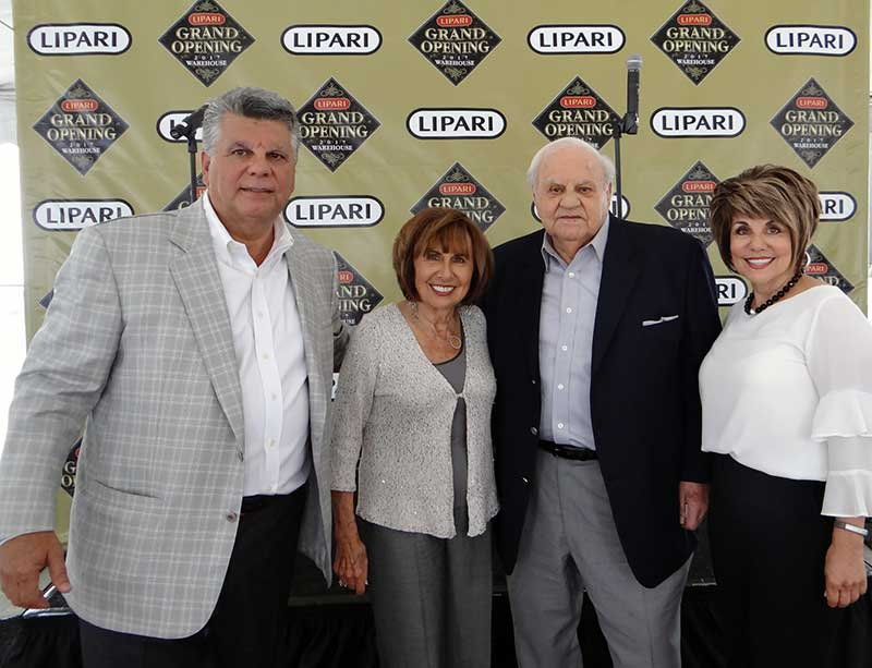 The Lipari family includes CEO Thom Lipari, parents Rose and Jim Lipari (Jim is the company founder) and sister Lori Lipari Adams.