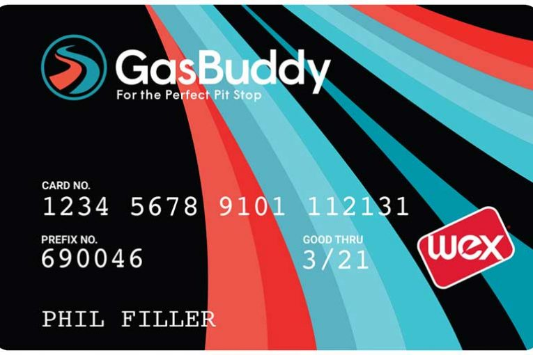 GasBuddy gasoline discount card