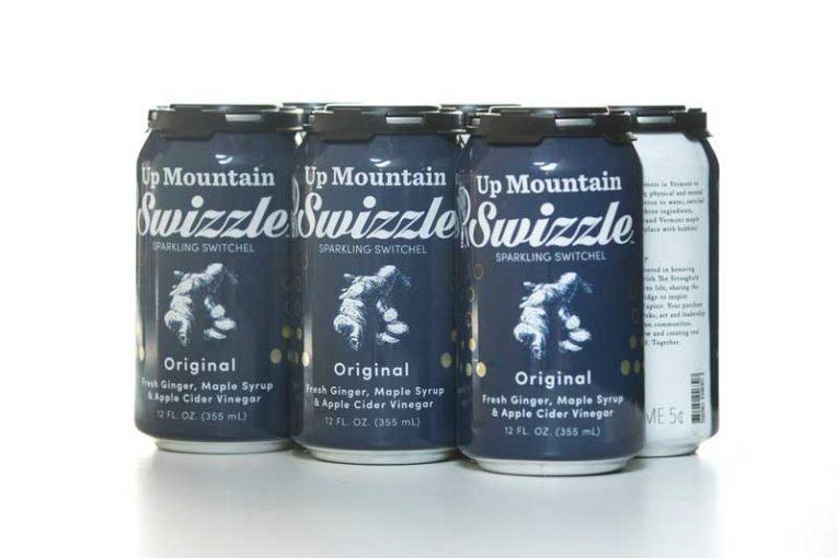 Original Swizzle in aluminum cans.