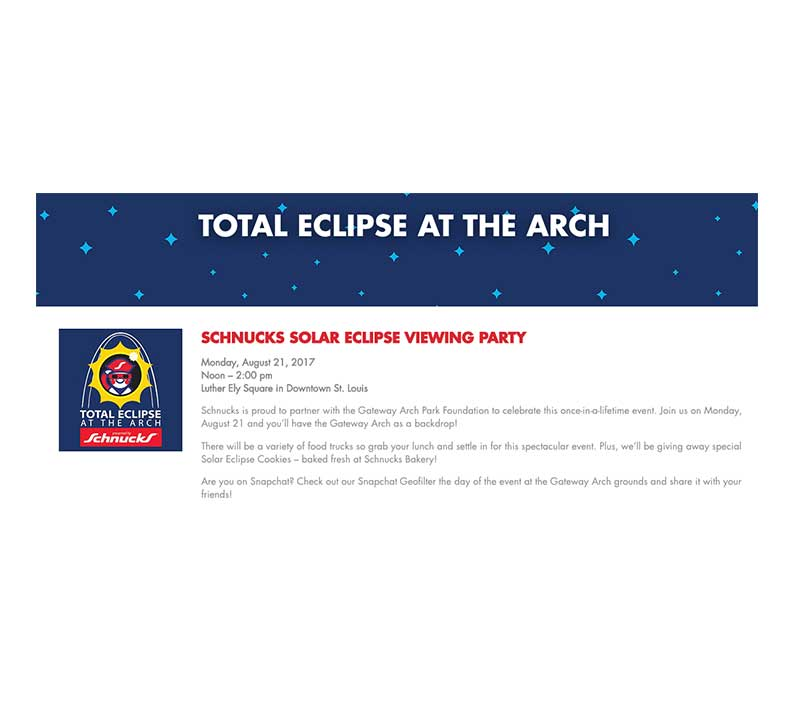 Schnucks To Co Host Eclipse Party In Downtown St Louis